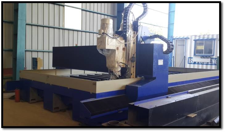 CNC Plate Drilling Machine (Max hole 50mm x 150mm thick)